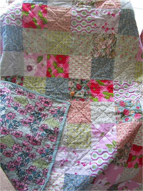 A Patchwork Quilt by The Occasional Craft
